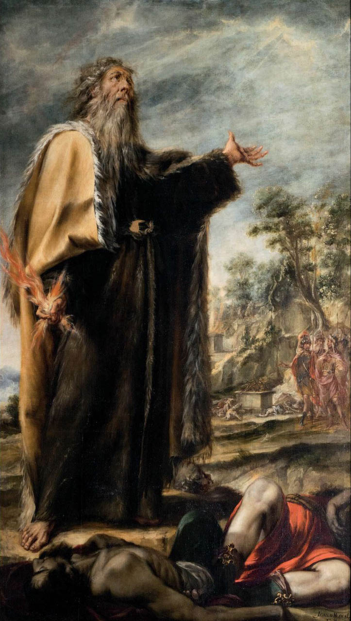 św Eliasz zalożycielem Karmelu