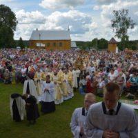 Odpust ku czci Matki Bożej Szkaplerznej w Gudogaju