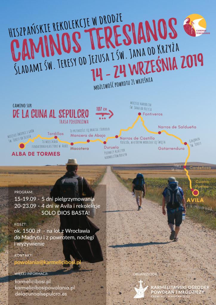 Caminos Teresianos 2019.