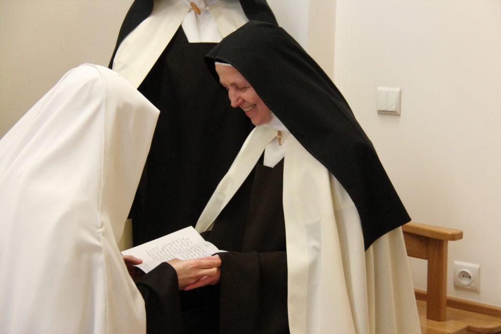 śluby wieczyste na ręce Matki Przeoryszy