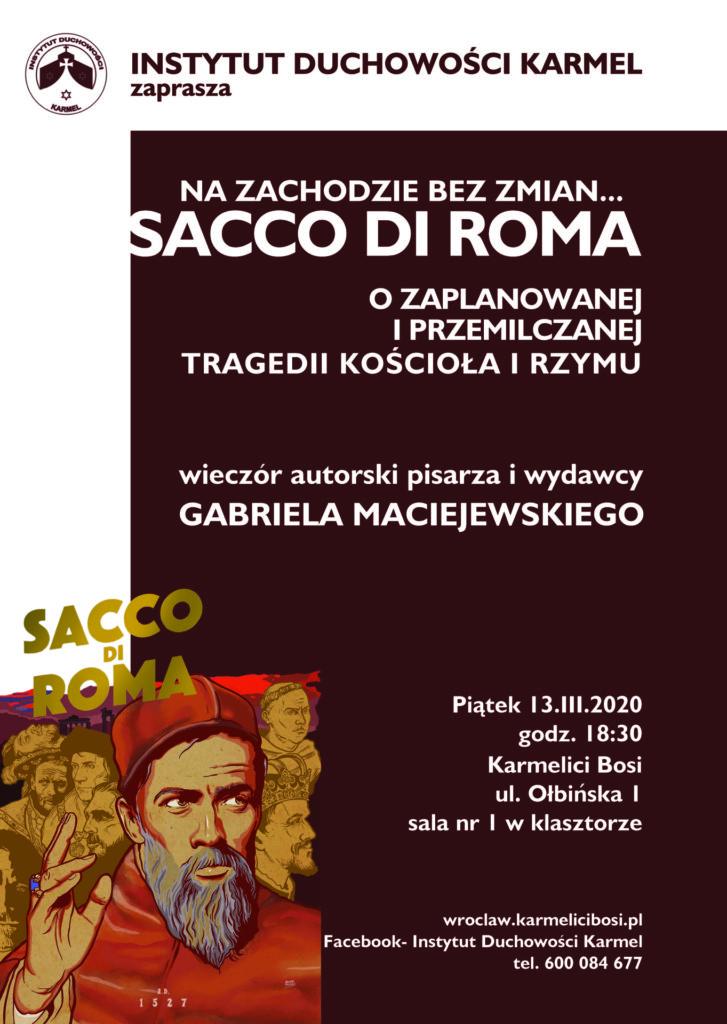 Wroclaw G. Maciejewski wieczór autorski 13 III
