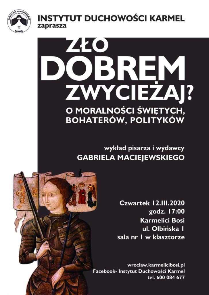 Wroclaw G. Maciejewski wykład 12 III
