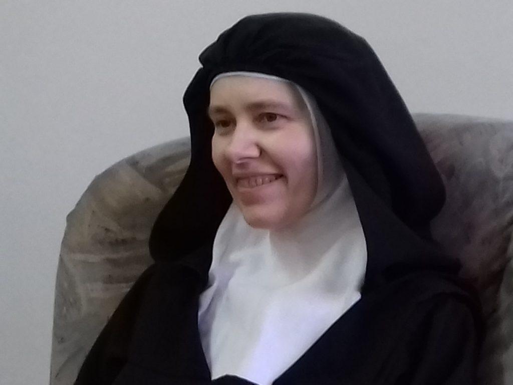 s.Klara miesiąc przed śmiercią