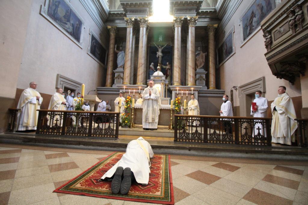 święcenia kapłańskie br. Jana od Jezusa (Vidasa Labanauskas)