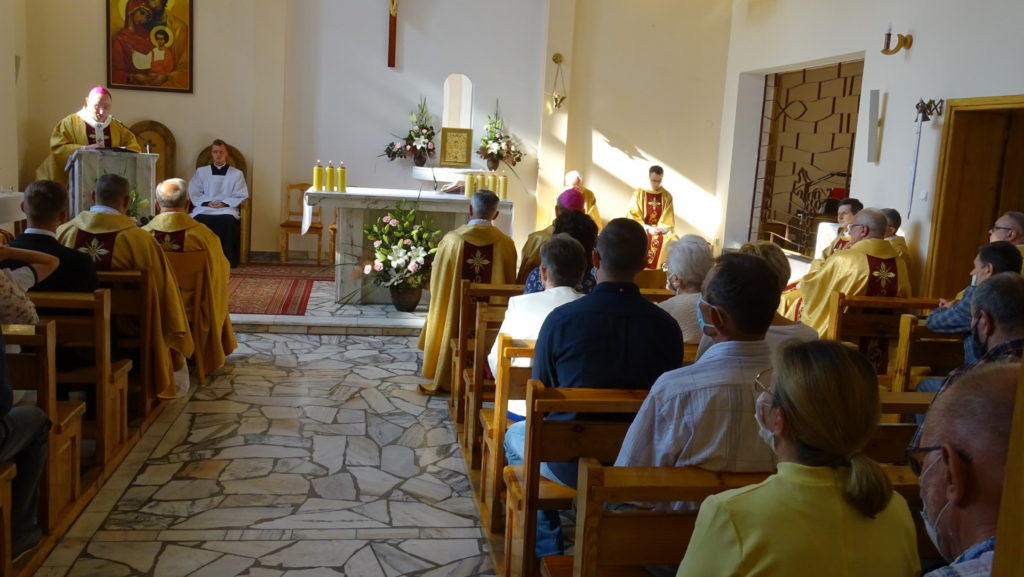 28 czerwca 2020r. - obchody jubileuszu 25-lecia karmelitanek bosych z Gniezna