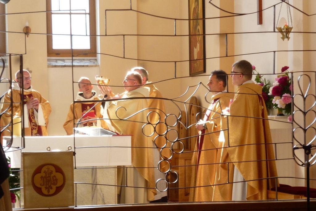 13 czerwca 2020r. - obchody jubileuszu 25-lecia karmelitanek bosych z Gniezna