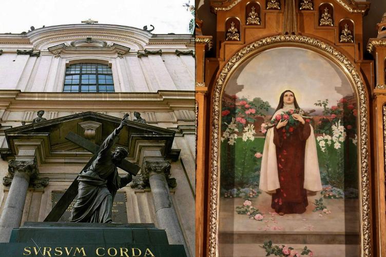Św. Teresa od Dzieciątka Jezus z Powstania Warszawskiego
