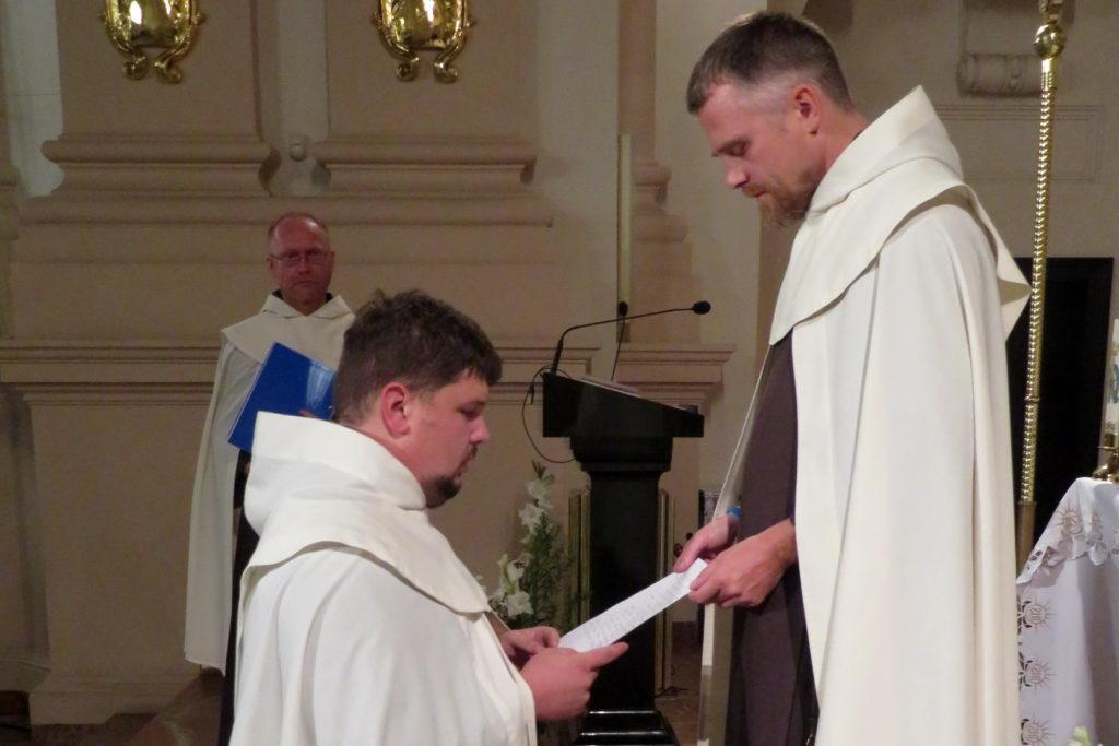 Śluby wieczyste i święcenia diakonatu w Berdyczowie
