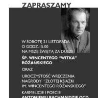 Nasz współbrat laureatem nagrody literackiej