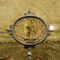 Symbol pierwotny św. Jana od Krzyża: rysunek Chrystusa ukrzyżowanego