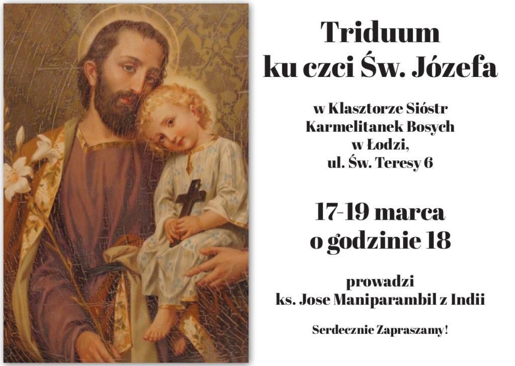 Triduum ku czci św. Józefa