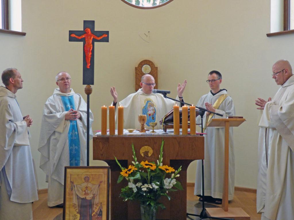 Poświęcenie kaplicy chórowej w Zwoli