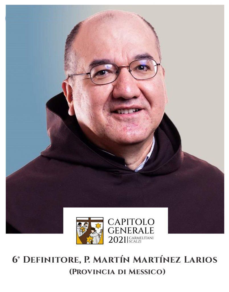 6 Definitor - O. Martín Martínez Larios (Prowincja Meksyku)