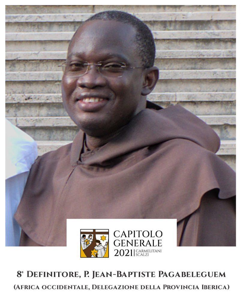 8 Definitor - O. Jean-Baptiste Pagabeleguem (Afryka Zachodnia, Delegatura Prowincji Iberyjskiej)