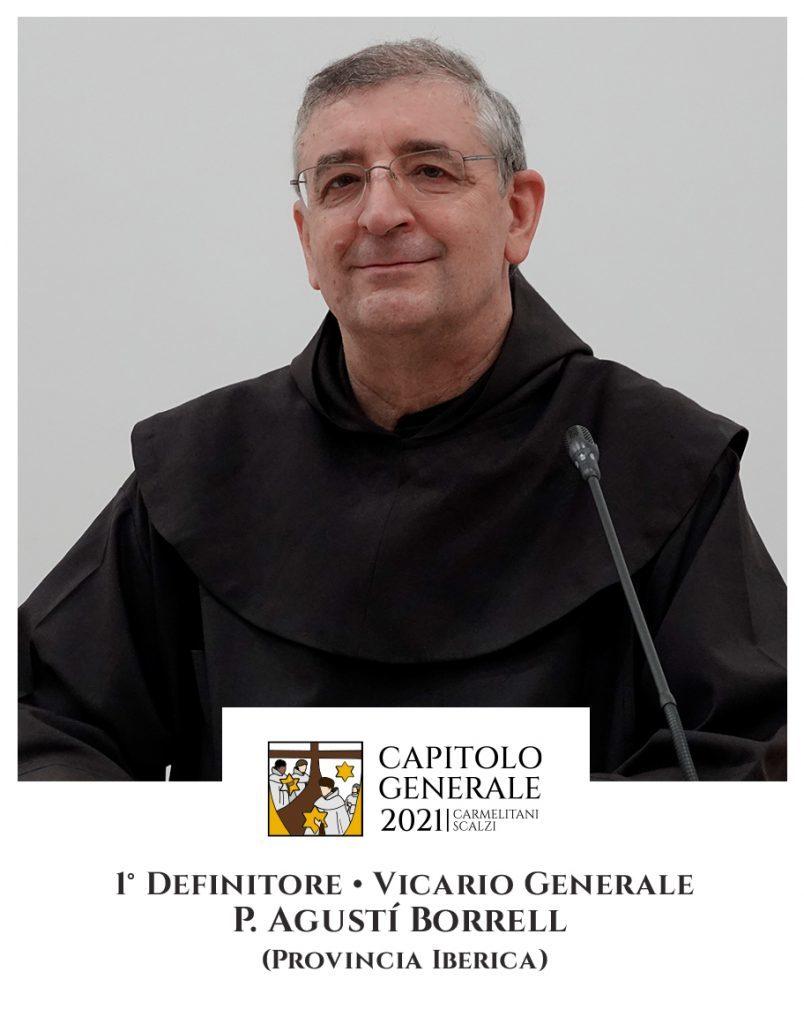 1 Definitor - O. Agustí Borrell (Prowincja Iberyjska)