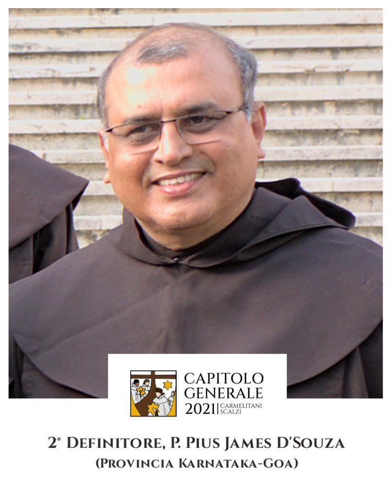 2 Definitor - O. Pius James D'Souza (Prowincja Karnataka-Goa)
