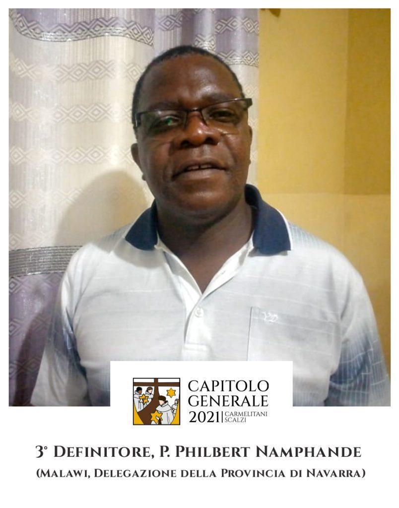 3 Definitor - O. Philbert Namphande (Malawi, Delegatura Prowincji Nawarra)
